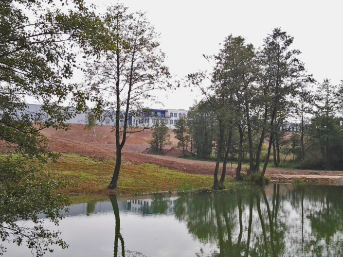 naturalny zbironik wodny
