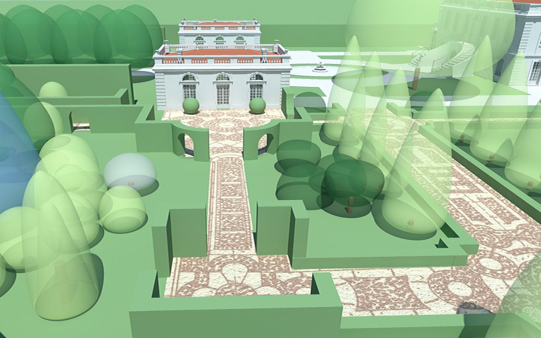 wizualizacja parku