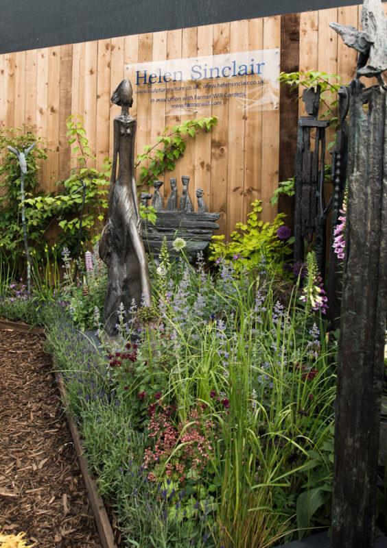 elementy w ogrodzie